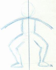 Description: Description: sliding - push along floor, one foot then the other