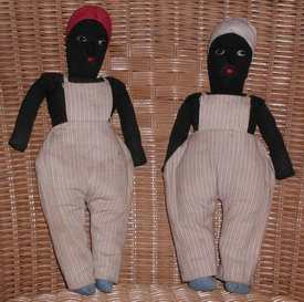 dolls from Jamaica photographed by Susan Kramer