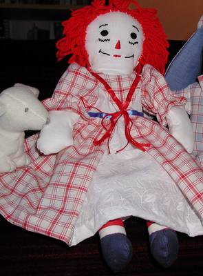 Raggedy Ann dress by Susan Kramer