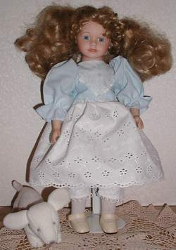 slim 18 Inch Doll from Germany
