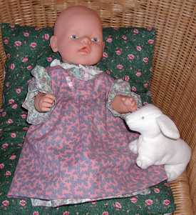 baby doll pinafore by Susan Kramer