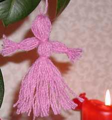 Description: Yarn Girl  Dolls by Susan Kramer
