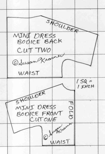 pattern for yourself or gifts but not commercially bodice pattern