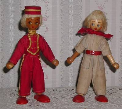 Wooden Dolls from Poland; photo credit Susan Kramer