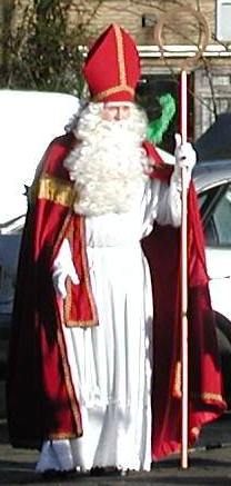 Sinterklaas; photo credit Susan Kramer