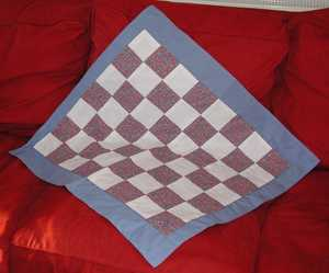Description: Description: Doll blanket; photo credit Susan Kramer