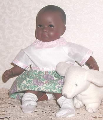 Small baby doll - Kathe Kruse Mini Bambina Patricia