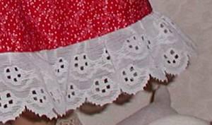 18-inch doll dress; photo credit Susan Kramer