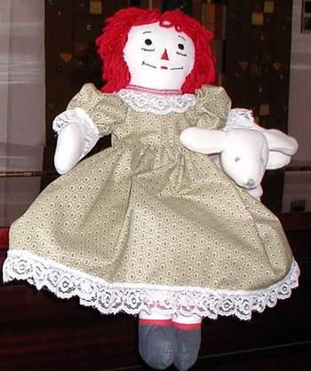 Raggedy Ann 18 inch doll