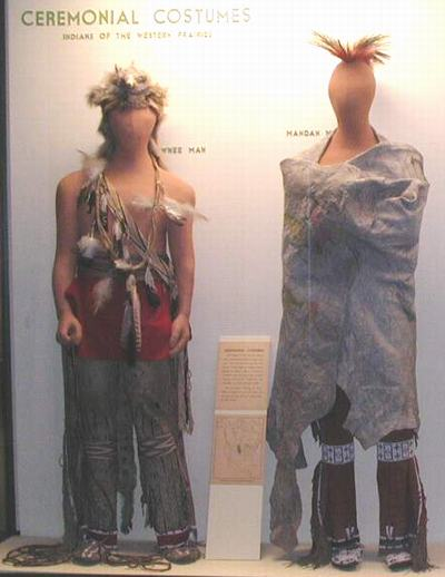 Ceremonial Costumes of Indians of the Western Prairie