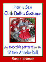 Description: How to Sew Cloth Dolls and Costumes by Susan Kramer