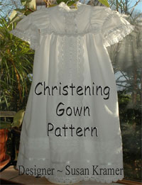Description: Description: Description: Description: Christening Gown Pattern by Susan Kramer