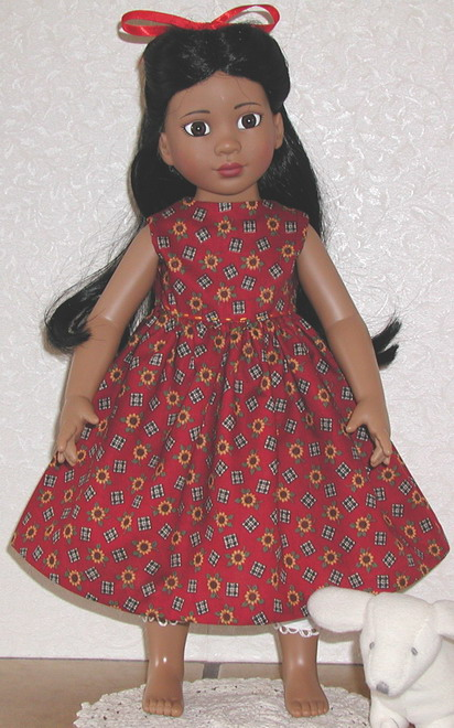 18 inch Magic Attic doll, Rose; photo credit Susan Kramer