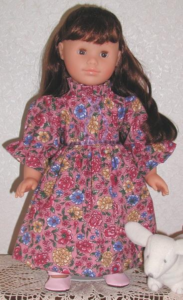 18 inch Corolle doll, Helene, modeling
