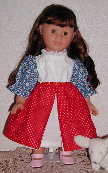 Corolle doll, Helene, modeling