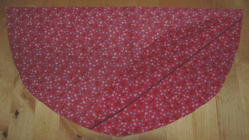 circle skirt detail