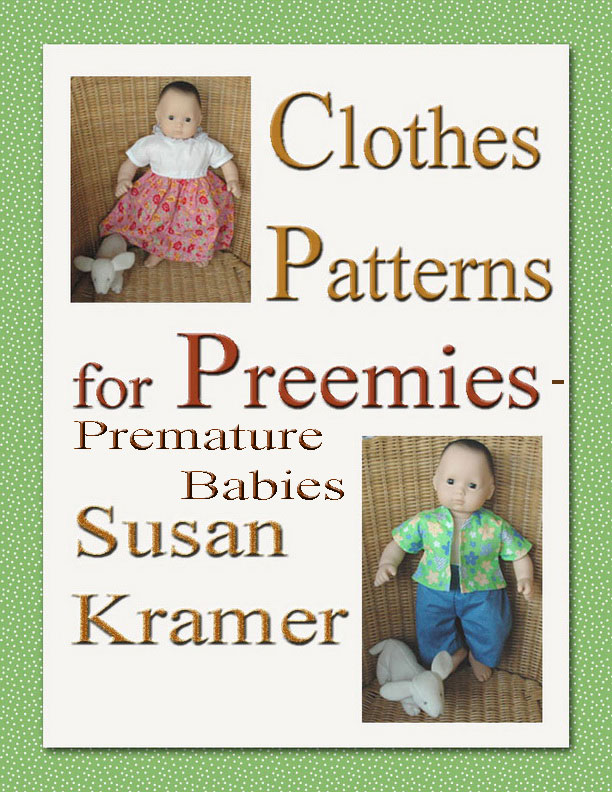 How to Sew Cloth Dolls and Costumes by Susan Kramer