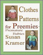 Medium Doll Clothes with Full Size Patterns - ebook by Susan Kramer
