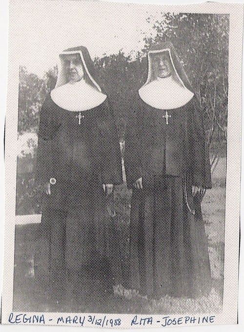 Description: Two oldest Melocik sister became Missionaries of the Sacred Heart
