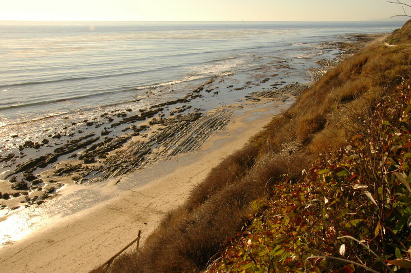 Description: Description: Description: Description: Description: cliff off Goleta, California