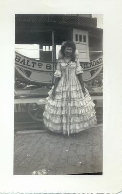 Description: Description: Description: Description: Jane Frances Kaspar; circa 1943-45.