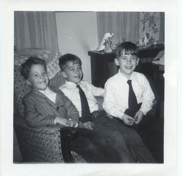 Description: Description: Description: Description: Kaspar boys: Chris, Brian, Francis, 1964.
