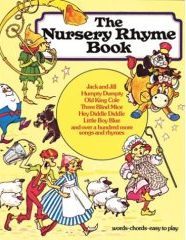 The Nursery Rhyme Book - easy piano music