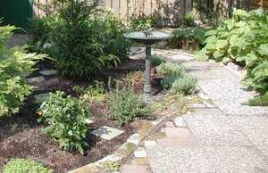 Description: Susan's meditation garden