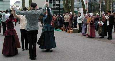 folk dancers, Emmen, The Netherlands. Photo credit Susan Kramer