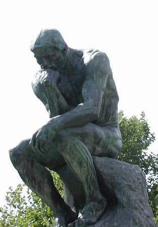 photo credit of The Thinker by Susan Kramer