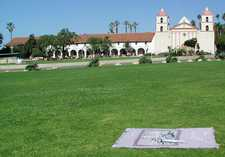 Santa Barbara Mission; photo credit Susan Kramer