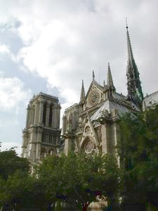 Notre Dame, Paris, France; photo credit Susan Kramer