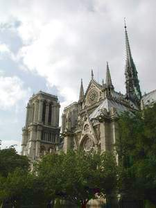 Notre Dame Cathedral, Paris, France; photo credit Susan Kramer