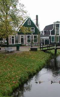 canal in Holland; photo credit Susan Kramer