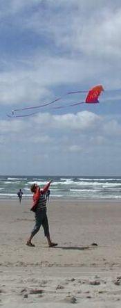 Description: Kite flying Photo credit Susan Kramer