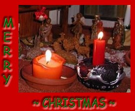 Description: Description: Description: Description: Description: Description: Christmas candles photo by Susan Kramer