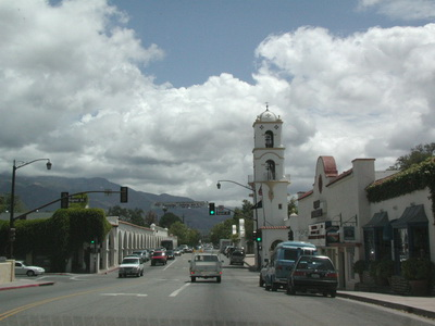 downtown Ojai; photo credit Stan Schaap