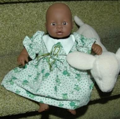Dutch Dress Pattern For 8 Inch Mini Baby Dolls