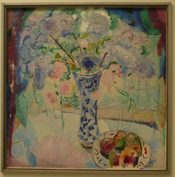 Description: Jan Sluijters - vase with flowers, 1912; photo credit Susan Kramer