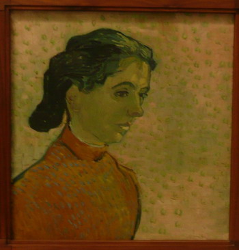 Vincent van Gogh - Portrait of a young woman, end of June beginning of July, 1890; photo credit Susan Kramer