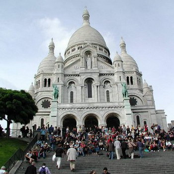 photo credit Susan Helene Kramer; Sacr� Coeur, Paris France