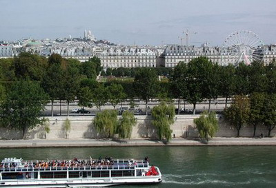 River Seine, Paris, France; photo credit Susan Kramer