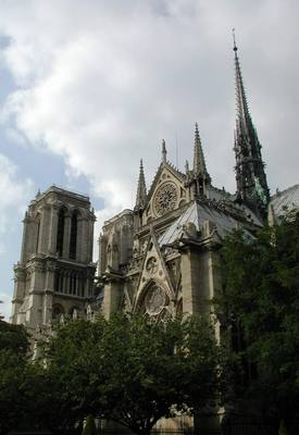 Cathedral de Notre Dame, Paris, France. Photo credit Susan Kramer.