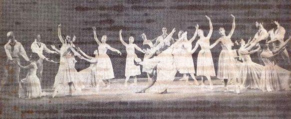 Description: Description: Description: Description: Description: Jacob's Pillow Dancers in Nel Roos ballet; 1963