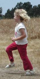 Photo credit Susan Kramer; child running