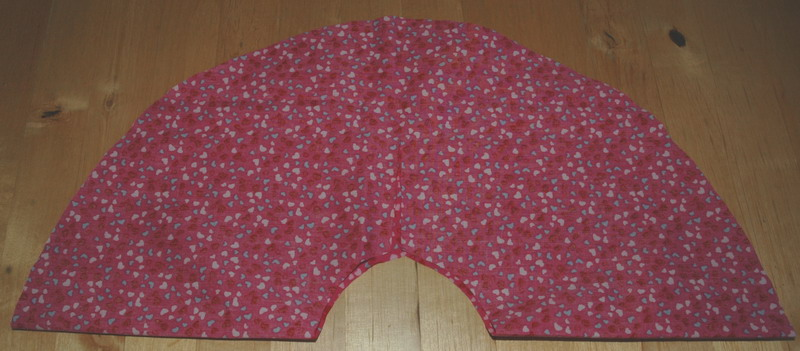 circle skirt with waist cut out